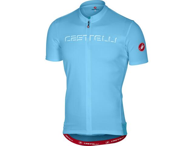 Castelli Prologo V Kortärmad cykeltröja Herr blå